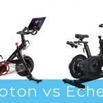 Peloton vs Echelon exercise bike