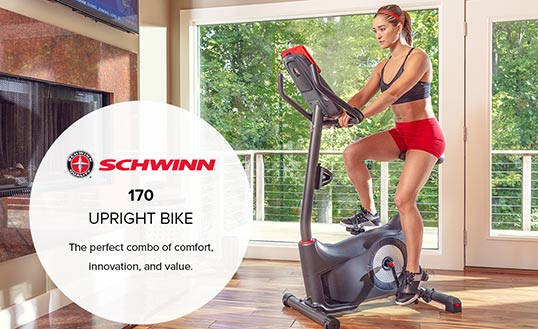 Schwinn 170 against its competitors