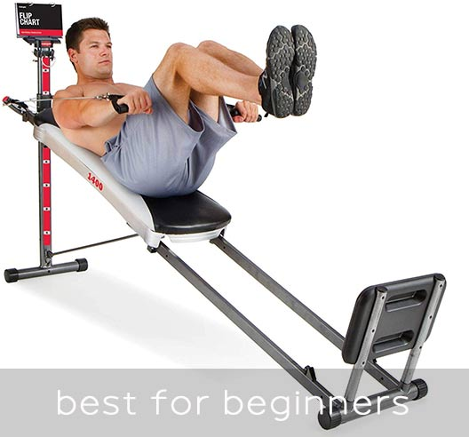 Total Gym 1400 - best option for beginners