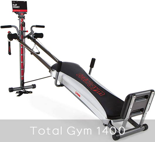 Total Gym 1400 unique features