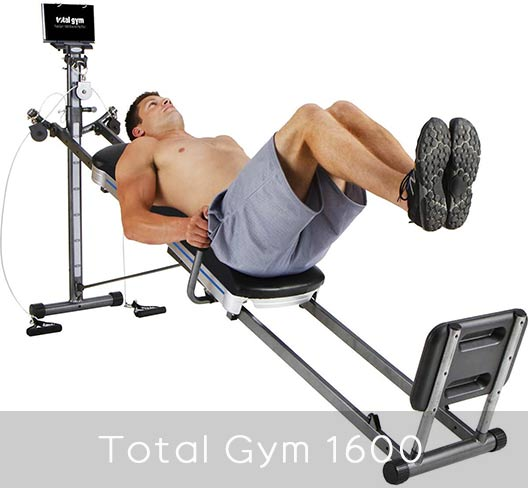 Total Gym 1600 - over 60 exercises