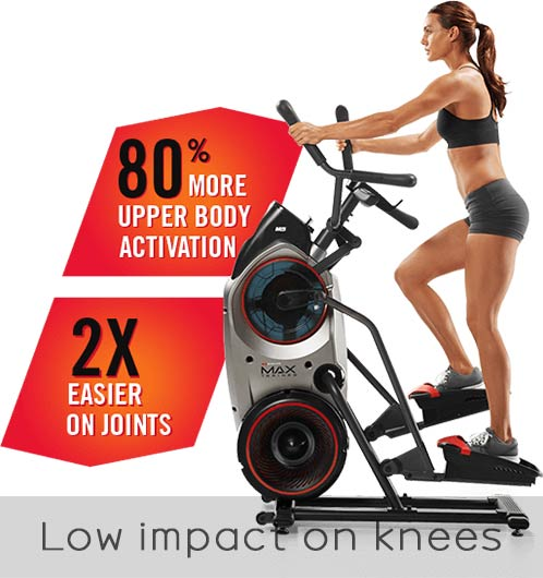 max trainer low impact on knees