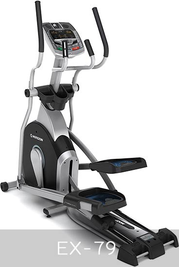 Horizon Fitness Ex-79 Appearance and Size
