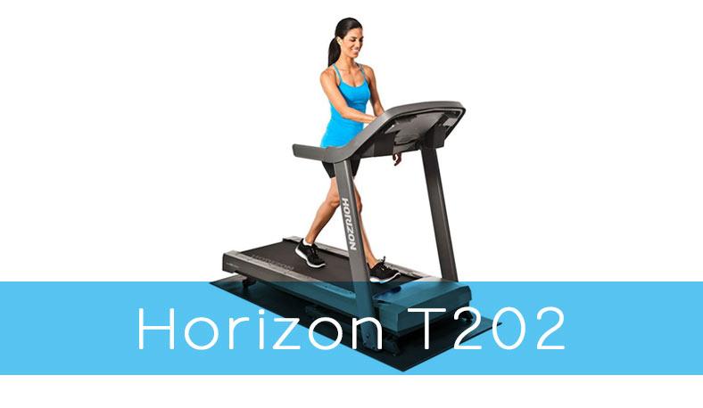 Horizon Fitness T202 Treadmill Review