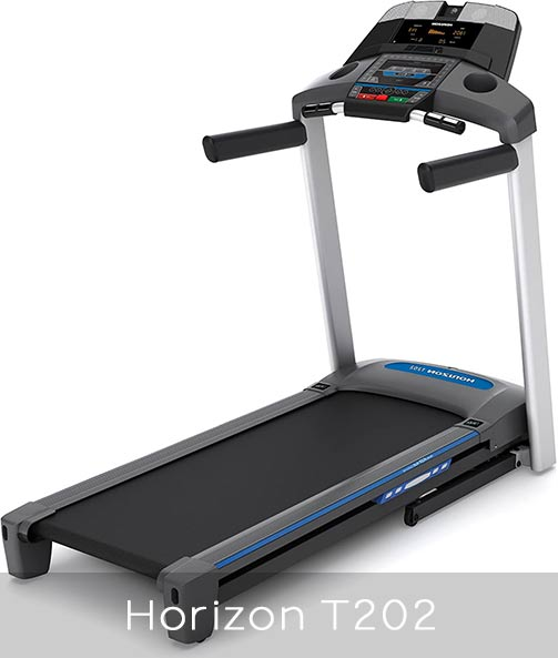 Horizon Fitness T202 main features