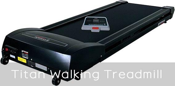 Titan Fitness Under Walking Treadmill features