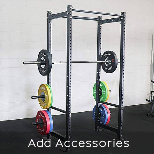 Titan power rack ability to add accessories