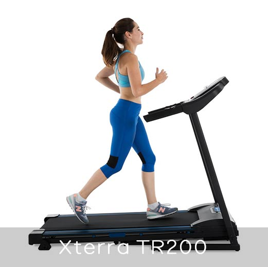 Xterra Fitness TR 200 Features