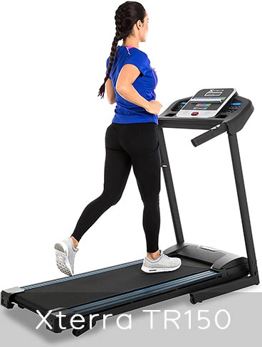 Xterra Fitness TR150 Treadmill Features