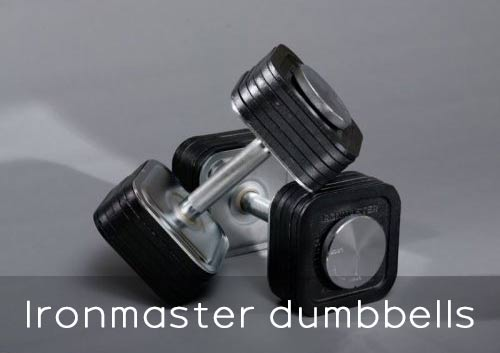 A deeper look at the Ironmaster dumbbells