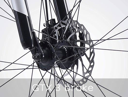 GTX Elite Bike Mechanical disc brake