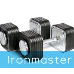 Ironmaster 75 lb Quick Lock Adjustable Dumbbell Review