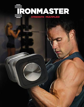 Ironmaster Quick Lock Adjustable Dumbbell Features