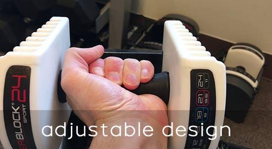 Powerblock dumbbells adjustable design