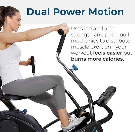 Teeter FreeStep LT1 Dual Power Motion
