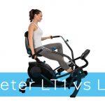 Teeter FreeStep LT1 vs LT3 Recumbent Cross Trainers