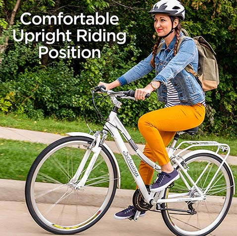 major advantages of the Schwinn Discover Hybrid Bike
