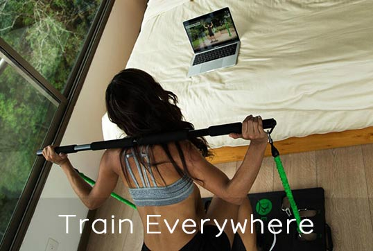 BodyBoss Home Gym 2 Train everywhere