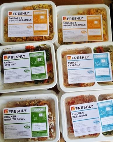 Freshly Diet Ingredients and Taste
