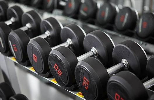 Gym Equipment Names - Dumbbells