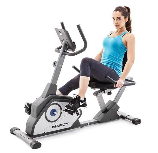 Gym Equipment Names - Recumbent bike