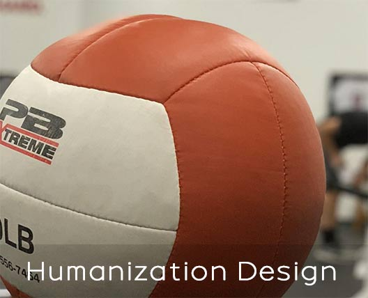 Perform Better medicine balls Human centered design