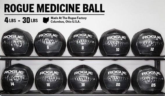 Rogue Medicine Balls Size and Appearance