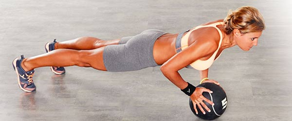 Which Perform Medicine ball to get