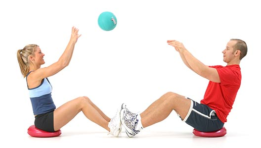Why train with medicine balls