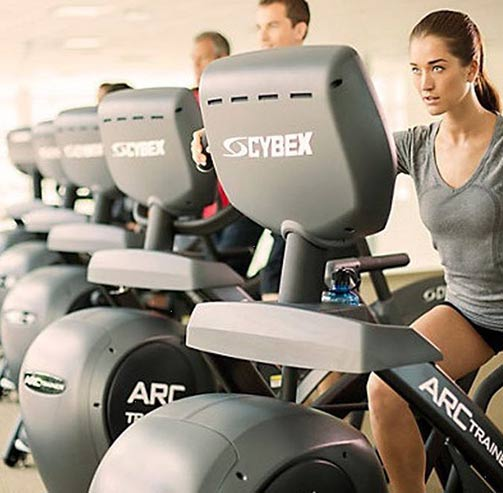 Multi models of Cybex Arc Trainer
