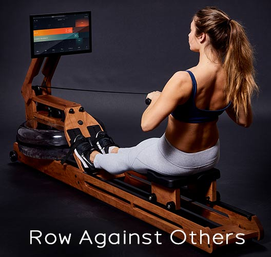 Row against others with Ergatta