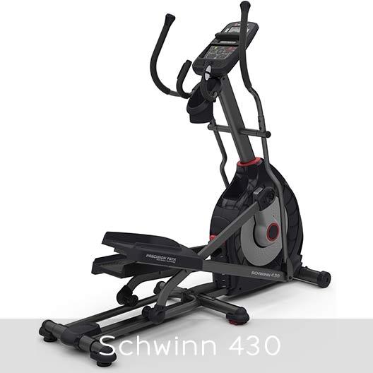 Schwinn 430 elliptical overall appearance