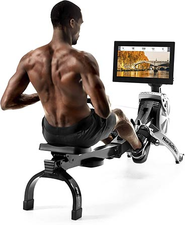 NordicTrack RW900 beast rower touchscreen