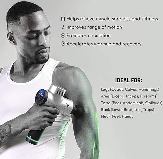 Hypervolt Massage Gun Design and Appearance