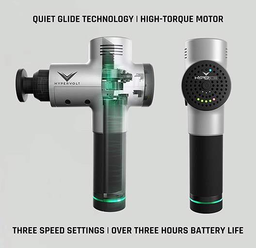 Quiet design of Hypervolt